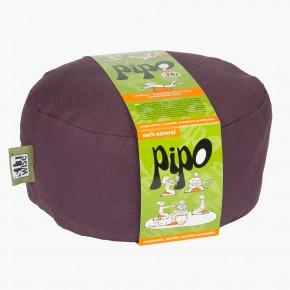 Pohankový taburet PIPO - lilková fialová