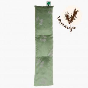 Hřejivý šál z třešňových pecek se používá pro aromaterapii a nařívání bolavých zad a šíje.