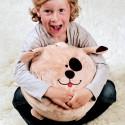 Dětský puf se hodí do každého dětského pokoje. A nebude se na něm pouze sedět, protože dětská fantazie nezná mezí.