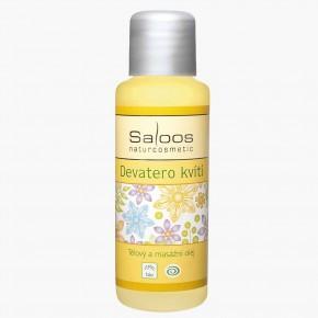 Saloos - Tělový a masážní olej Devatero kvítí