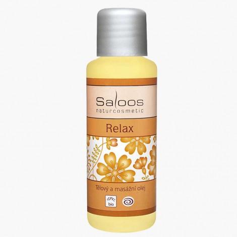 Saloos - Tělový a masážní olej Relax