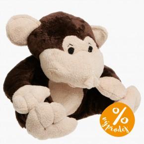 Hřejivý plyšák - Opička - poškozená krabička